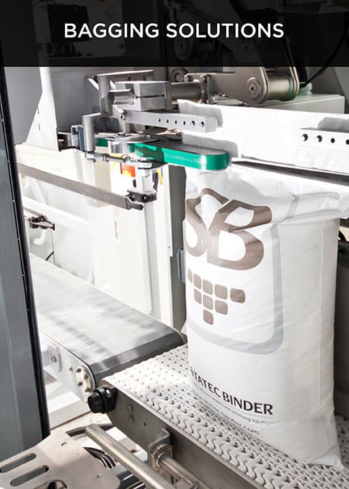 Bagging solution for robovic industrial automation