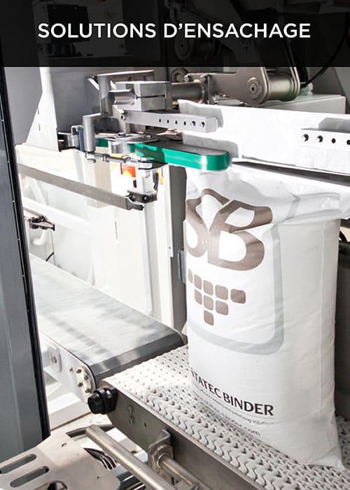 Robovic automatisation industrielle pour les ensacheuses