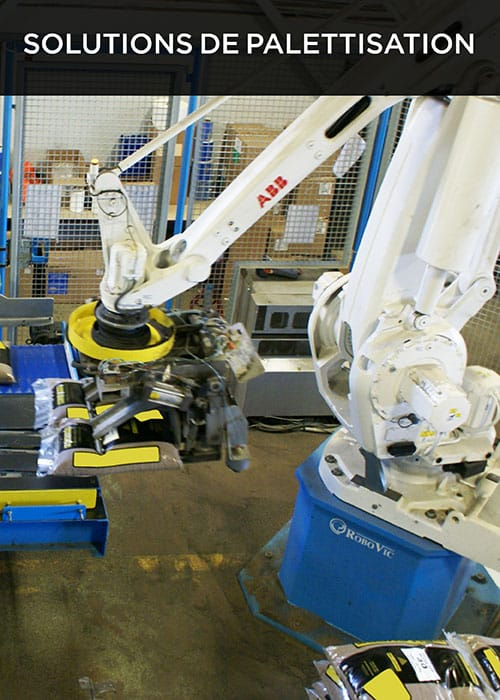 Des solutions de robotique industrielle crée par robovic